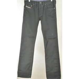 Diesel jeans men 29 x 33 Safado A dark greenish gr